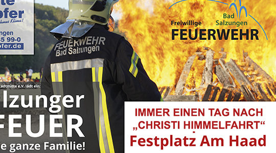 Maifeuer Bad Salzungen 11.05.2018